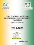 Cote d'Ivoire: Plan d'Action National Budgetise de Planification Familiale (2015-2020)