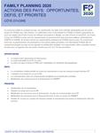Côte d'Ivoire - Action des pays : opportunités, défis et priorités