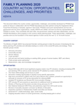 Kenya Country Action: Opportunities, Challenges, and Priorities