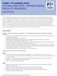 Madagascar - Action des pays : opportunités, défis et priorités