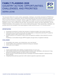 Sierra Leone Country Action: Opportunities, Challenges, and Priorities