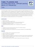 Togo - Action des pays : opportunités, défis et priorités