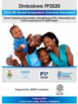 Zimbabwe FP2020: CSOs 4th Round Symposium Outcome Document