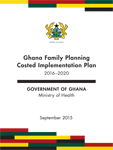 Ghana Family Planning Costed Implementation Plan 2016-2020