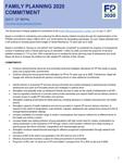 Nepal FP2020 Revitalized Commitment 2017