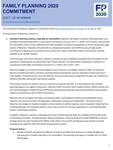 Myanmar FP2020 Commitment Self-Reporting Questionnaire 2017