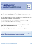 Kenya FP2020 Commitment Self-reporting Questionnaire 2018
