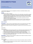 Mali questionnaire mise a jour des engagements 2018